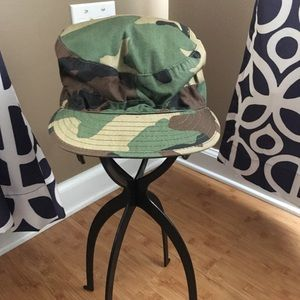 Military Camo Hat Size 7 3/8
